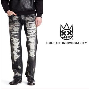 CULT OF INDIVIDUALITY HAGEN RELAXED JEAN NWT